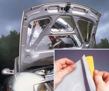 Zrcadlová folie na auto